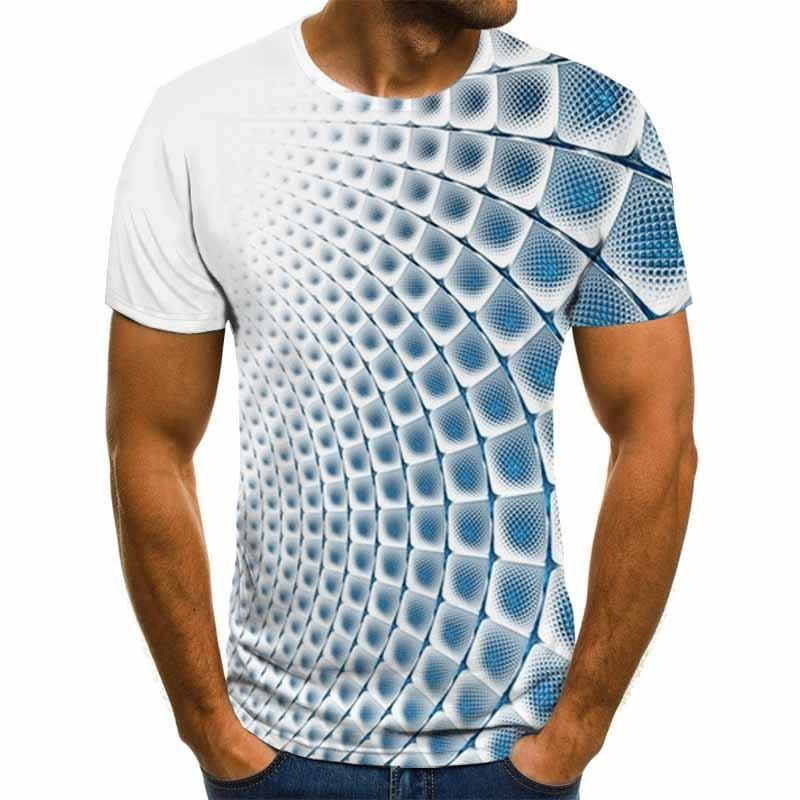 Mens 3D vortex shirt
