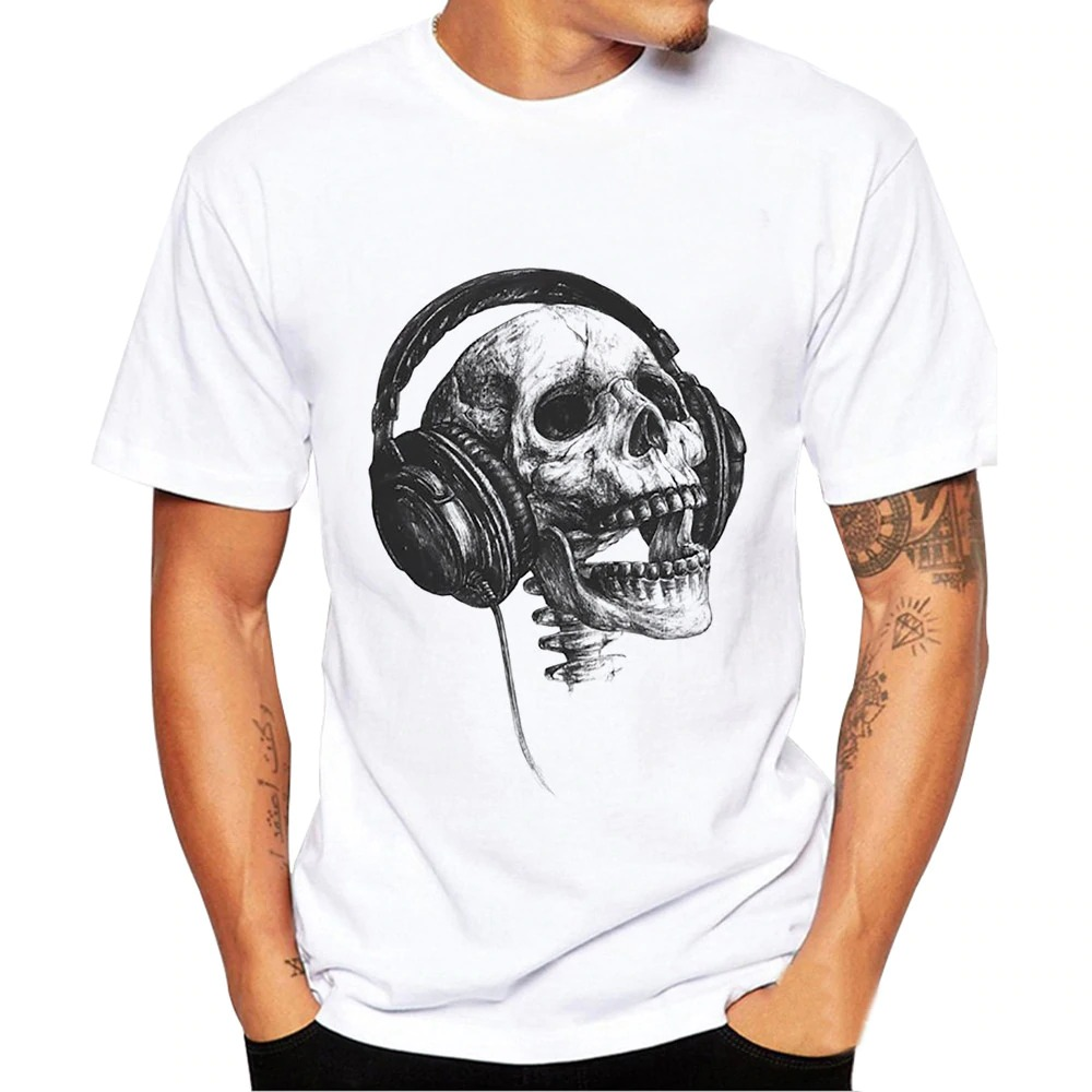 Scream Headphone Skull