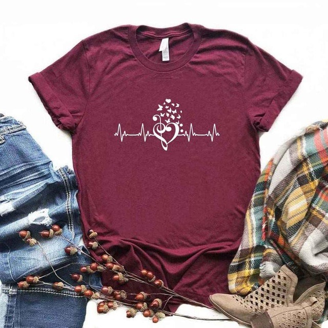 Hipster Heartbeat butterfly