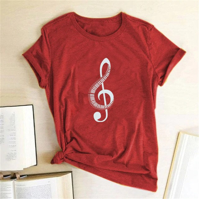 G-Clef Ultra Music Festival Woman Summer T Shirt