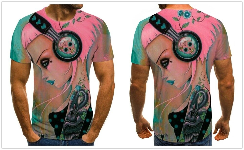 Never touch Pinkies Headset (Girl Dj)